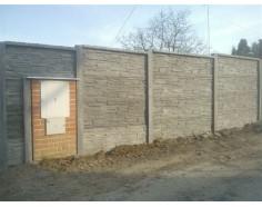 Betonový plot 11 Prima Plus oboustranný přírodní
